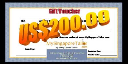 Voucher Introduction - My Singapore Tailor .com™